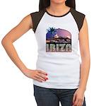 Ibiza Old Town Women's Cap Slv T-Shirt