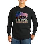 Ibiza Old Town Lng Slv Black or Navy T-Shirt