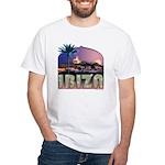 Ibiza Old Town White T-Shirt
