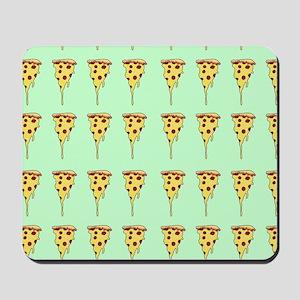 pizza print Mousepad