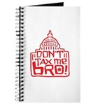 Don't Tax Me, Bro! Journal