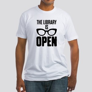 The Library Is Open For Book Lover T-Shirt