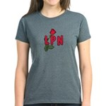 LPN Rose Women's Dark T-Shirt