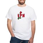 LPN Rose White T-Shirt
