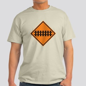 Train Tracks Light T-Shirt