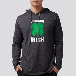 Chicago Irish Shamrock St Patr Long Sleeve T-Shirt
