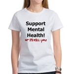 Support Mental Health Women's T-Shirt