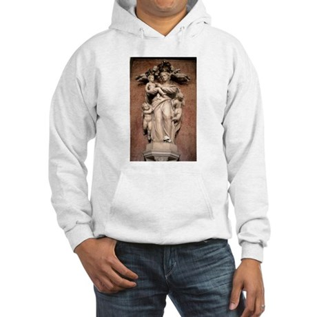 Virgin and Christ Child Hooded Sweatshirt
