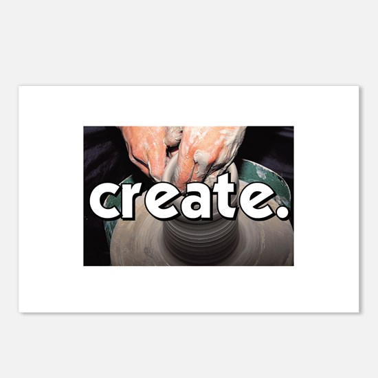Pottery Wheel - Create - Craf Postcards (Package o