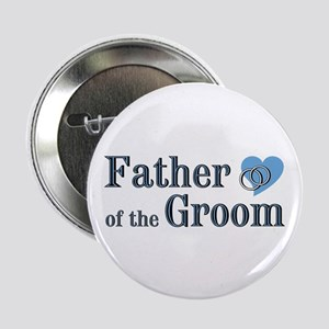 "Father of Groom II 2.25"" Button (100 pack)"