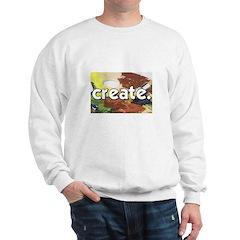 Paint Pallete - Create - Craf Sweatshirt