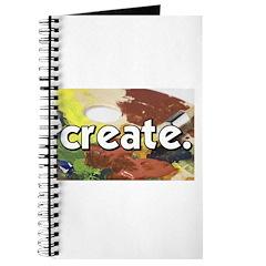 Paint Pallete - Create - Craf Journal