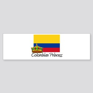 Colombian Princess Bumper Sticker