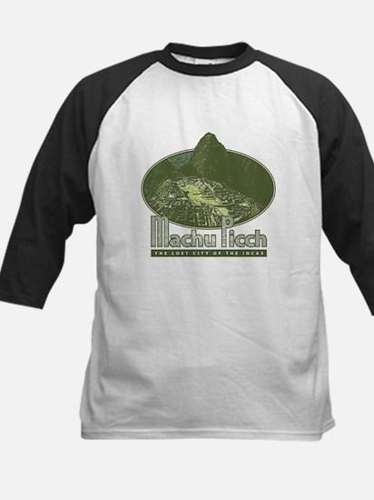 Machu Picchu Kids Baseball Jersey