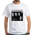 Meet The Stevos White T-Shirt