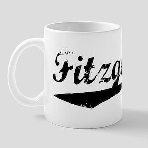 Vintage Fitzgerald (Black) Mug