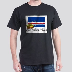 Cape Verdean Princess Dark T-Shirt