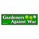 Gardeners Against War Bumper Sticker