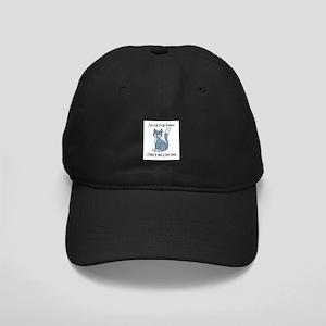 Cat For My Husband Black Cap