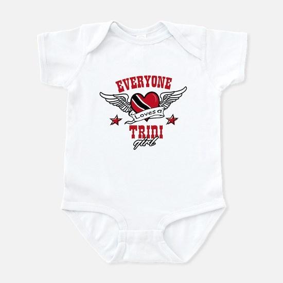 Everyone loves a Trini Girl Infant Bodysuit