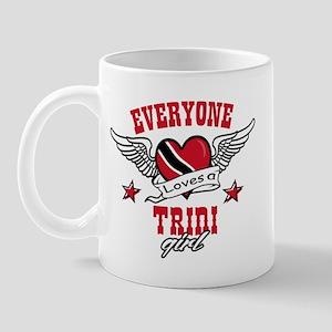 Everyone loves a Trini Girl Mug