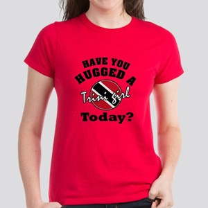 Have you hugged a Trini girl Women's Dark T-Shirt