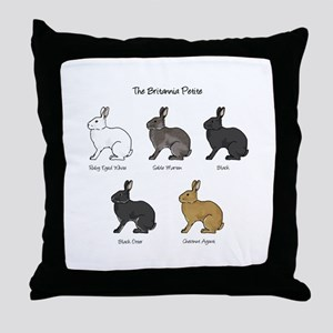 Britannia Petite Colors Throw Pillow
