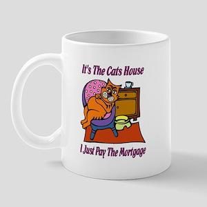 Cats House Mug
