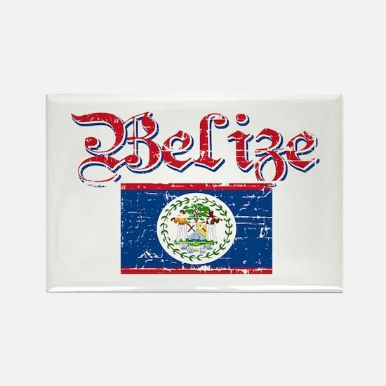 Belizean Flag Rectangle Magnet