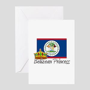 Belizean Princess Greeting Card