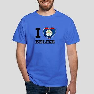 I love Belize Dark T-Shirt