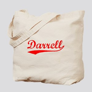 Vintage Darrell (Red) Tote Bag