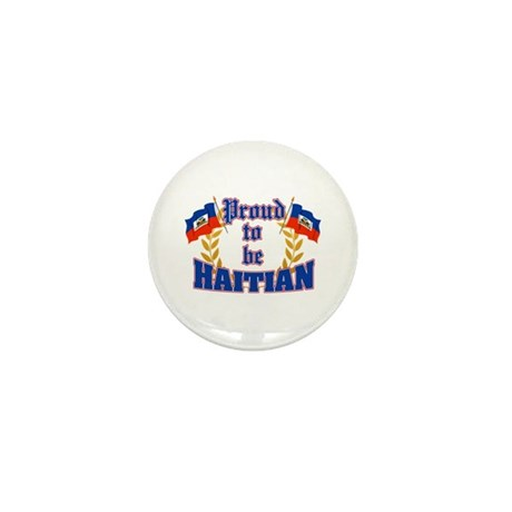 Proud to be Haitian Mini Button (100 pack)