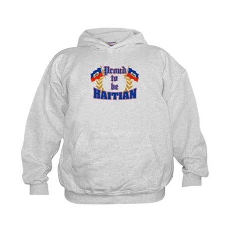 Proud to be Haitian Kids Hoodie