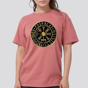 Vegvisir Runes - Black T-Shirt