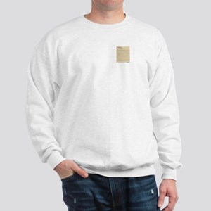 US Constitution (pocket) Sweatshirt