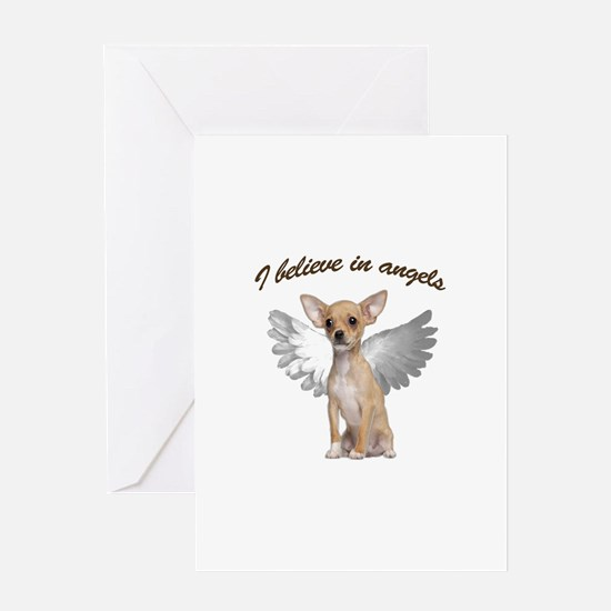 Angel Chihuahua Greeting Cards