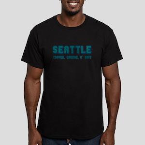 SEATTLE on white T-Shirt