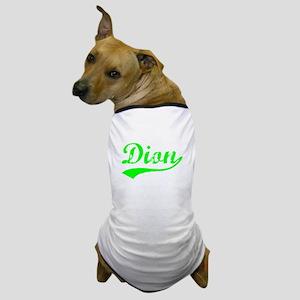 Vintage Dion (Green) Dog T-Shirt