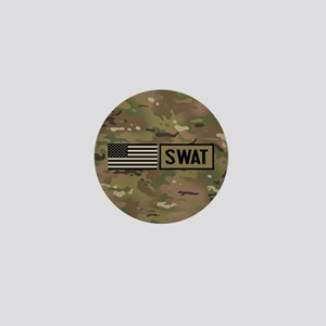 SWAT: Camouflage Mini Button