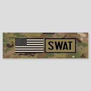 SWAT: Camouflage Sticker (Bumper)