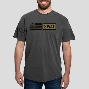 SWAT: Tactical Flag Mens Comfort Colors Shirt