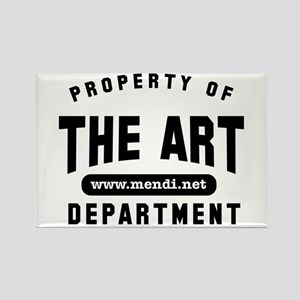 The Art Department Rectangle Magnet