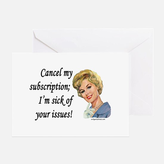 Cool Housewife Greeting Card