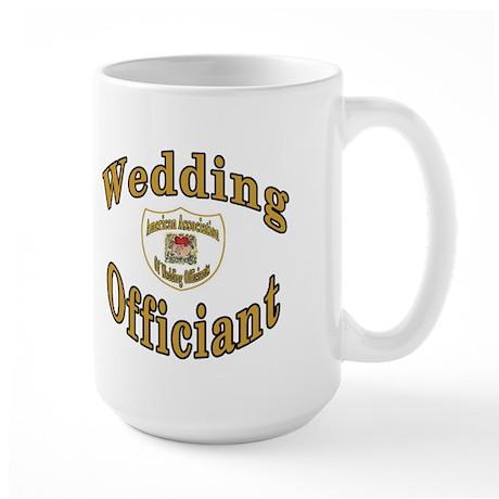 American Assn Wedding Officiants Large Mug