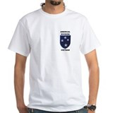 Military Mens Classic White T-Shirts