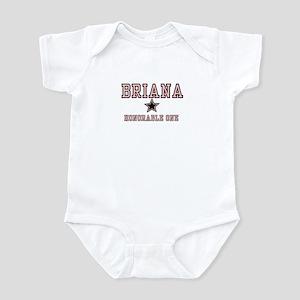 Briana - Name Team Infant Bodysuit