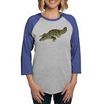 Nile Crocodile crawl Long Sleeve T-Shirt