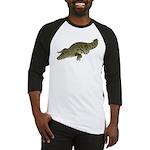 Nile Crocodile crawl Baseball Jersey