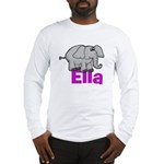 Ella - Elephant Long Sleeve T-Shirt